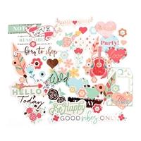 Εικόνα του My Prima Planner Ephemera Cardstock Die-Cuts - Be Happy
