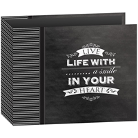 "Picture of Pioneer 3-Ring Chalkboard Album 12""X12"" - Smile"