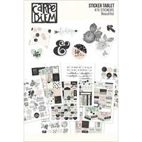 Εικόνα του Carpe Diem A5 Stickers - Beautiful
