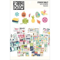 Picture of Carpe Diem A5 Stickers - Seasons