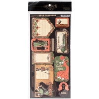 Picture of Master Detective Cardstock Die-Cuts: Tags & Pockets