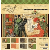 Εικόνα του Μπλοκ Χαρτιων Graphic 45 30.5X30.5 - Master Detective