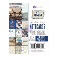 "Picture of St. Tropez Journaling Cards 3""X4"""