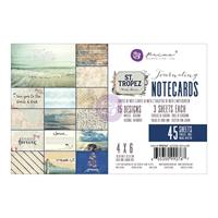 """Εικόνα του St. Tropez Journaling Cards 4""""X6"""""""