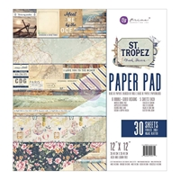 Picture of Prima Marketing Double-Sided Paper Pad 12''X12'' - St. Tropez