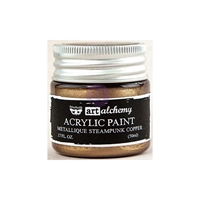 Picture of Art Alchemy Acrylic Paint - Metallique Steampunk Copper