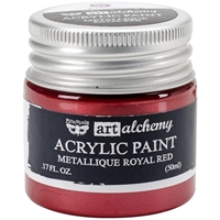 Εικόνα του Art Alchemy Acrylic Paint - Metallique Royal Red