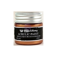 Picture of Art Alchemy Acrylic Paint - Metallique Brass Hardware