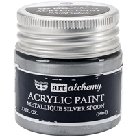Picture of Art Alchemy Acrylic Paint - Metallique Silver Spoon