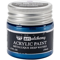 Picture of Art Alchemy Acrylic Paint - Metallique Deep Waters