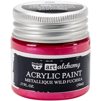 Picture of Art Alchemy Acrylic Paint - Metallique Wild Fuchsia