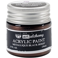 Picture of Art Alchemy Acrylic Paint - Metallique Black Berry