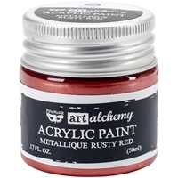 Picture of Art Alchemy Acrylic Paint - Metallique Rusty Red