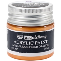 Picture of Art Alchemy Acrylic Paint - Metallique Fresh Orange