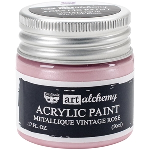 Picture of Art Alchemy Acrylic Paint - Metallique Vintage Rose