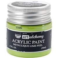 Picture of Art Alchemy Acrylic Paint - Metallique Lime Peel
