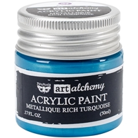 Picture of Art Alchemy Acrylic Paint - Metallique Rich Turquoise