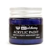 Picture of Art Alchemy Acrylic Paint - Metallique Midnight Sky