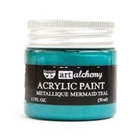 Picture of Art Alchemy Acrylic Paint - Metallique Mermaid Teal