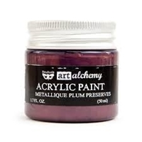 Picture of Art Alchemy Acrylic Paint - Metallique Plum Preserves
