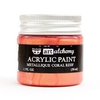 Εικόνα του Art Alchemy Acrylic Paint - Metallique Coral Reef