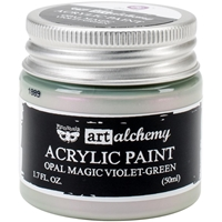Picture of Art Alchemy Acrylic Paint - Opal Magic Violet/Green