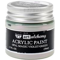 Εικόνα του Art Alchemy Acrylic Paint - Opal Magic Violet/Green