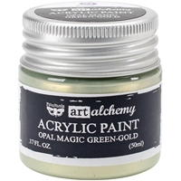 Picture of Art Alchemy Acrylic Paint - Opal Magic Green/Gold