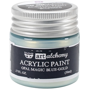 Picture of Art Alchemy Acrylic Paint - Opal Magic Blue/Gold