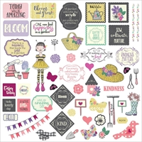 "Picture of Julie Nutting Seeds Of Kindness Stickers 12""X12"" - Elements"