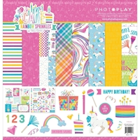 "Εικόνα του Photo Play Collection Pack 12""X12"" - Cake Rainbow Sprinkles"