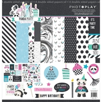 """Picture of Photo Play Collection Pack 12""""X12"""" - Cake Panda Party"""