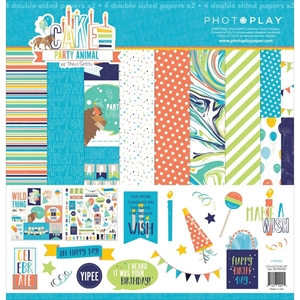 "Picture of Photo Play Collection Pack 12""X12"" - Cake Party Animal"