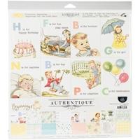 """Εικόνα του Authentique Collection Kit 12""""X12"""" - Beginnings"""