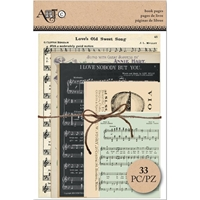 Εικόνα του Art-C Ephemera Book Pages  - Music