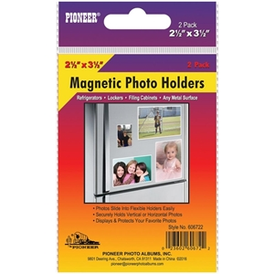 "Picture of Magnetic Photo Holders 2.5""X3.5"""