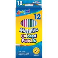 Picture of Liqui-Mark Colored Pencils 12/Pkg - Metallic