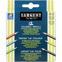 Picture of Half-Sized Colored Pencils 12/Pkg