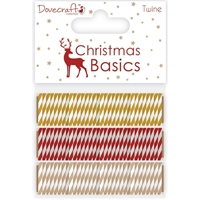 Picture of Dovecraft Christmas Basics Twine