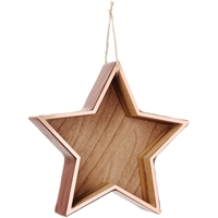 "Εικόνα του Copper Hanging Shadow Box 7.5"" - Star"
