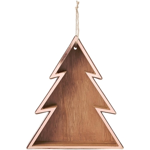 """Picture of Copper Hanging Shadow Box 7.5"""" - Tree"""
