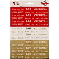 Picture of Fa La La Phrase Stickers