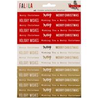 Εικόνα του Fa La La Phrase Stickers