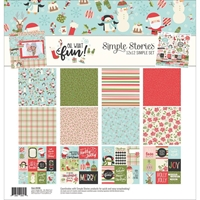"Picture of Simple Stories Collection Kit 12""X12"" - Oh What Fun"