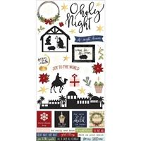 Εικόνα του Simple Sets O Holy Night Cardstock Stickers
