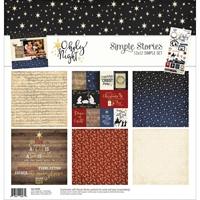 "Εικόνα του Simple Stories Collection Kit 12""X12"" - O Holy Night"