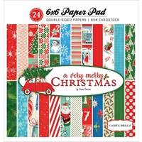 "Picture of Carta Bella Double-Sided Paper Pad 6x6""  - A Very Merry Christmas"