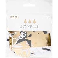 Εικόνα του Joyful Mixed Bag Cardstock Die-Cuts