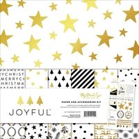"""Εικόνα του My Mind's Eye Paper & Accessories Kit 12""""X12"""" - Joyful"""
