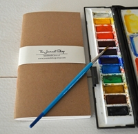 Picture of Journal Shop - Midori Watercolor Journal / Insert
